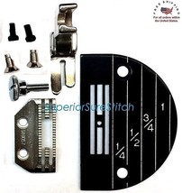 CONSEW NEEDLE PLATE SET 147150,149057,24983 with screws - $18.65