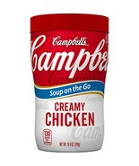 Campbell's Soup on the Go, Creamy Chicken, 10.9 Ounce Pack of 8 - $15.75