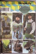 Simplicity 5747 Men's Accessories Pattern Apron... - $12.00
