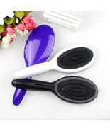 Hair Massage Comb Straight Hair Plastic Oval Comb Anti-static - $5.30