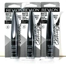 3 Count Revlon 0.03 Oz Exactify Wheel Tip 108 Matte Black 16 Hour Liquid Liner - $28.99