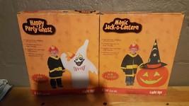 (1) 4' Airblown Inflatable Halloween Ghost or Jack O Lantern-Pumpkin ~NEW~ - $32.99