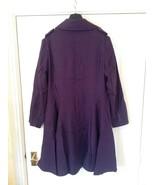 Lee Cooper Trench Coat / Ladies - Size: M / L - Colour : Purple - $32.00