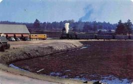 Railroad Train Approaching Edaville Railroad Station South Carver MA pos... - $6.44