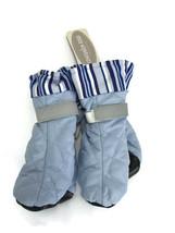 Dog Shoes Companion Road Sport Dog Boots Medium Blue Striped - $12.59