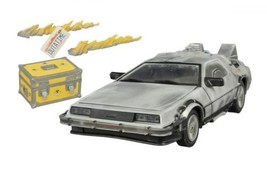 Diamond Select Toys Back to the Future: Iced Time Machine Collector's Set  - $123.85