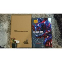 NEW Authentic Spider Man Spiderman 2099 Black Suit Marvel Hot Toys VGM42 - $256.78