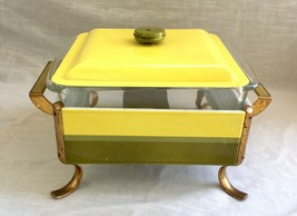 Vintage Mid-Century Anchor - Hocking Chafing Dish with Lid & Pyrex Liner - $54.69