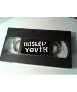 """RARE 1999 (VHS) """"MISLED YOUTH"""" ZERO Skateboarding / Skater Videos  - $72.00"""