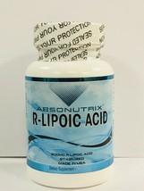 Absonutrix R-Lipoico Ácido Nuevo Suplemento Dietético 30 Cápsulas - $28.18