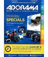 ADORAMA HOLIDAY SPECIALS CATALOG /ELECTRONICS /PHOTOGRAPHY /COMPLETE DET... - $6.93