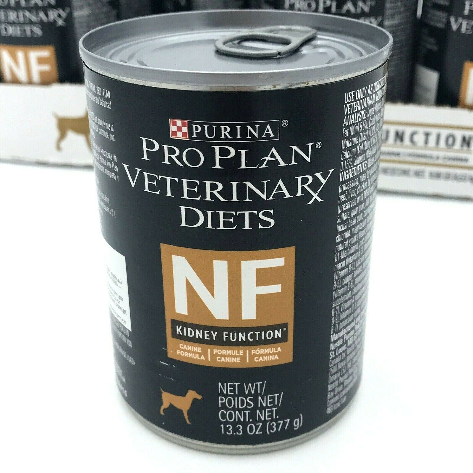 Primary image for Purina Pro Plan NF Kidney Renal Function 12 Case Dog Dog Food 13.3 oz March 2021