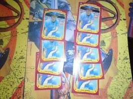 1986 Fleer Star Stickers Dale Murphy #80 Braves Lot of 9 - $1.62