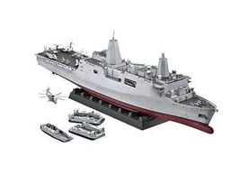 USS New York Amphibious Transport Dock Plastic Model Kit 05118 - $190.87