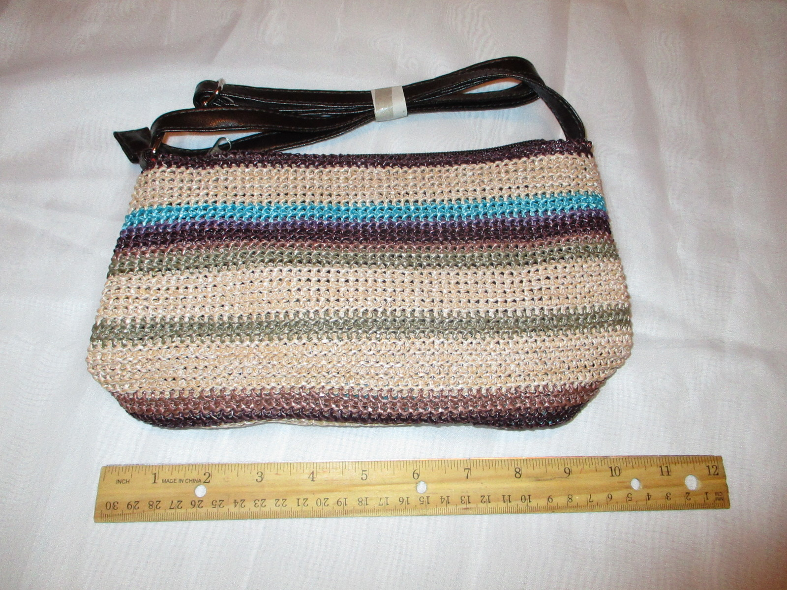Primary image for Multi Color Woven Purse or Handbag Design