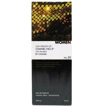 Jordache Chanel No 5 Women Eau De Parfum For Women 90ml NATURAL SPRAY - $7.99