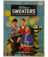 Children's Sweaters and Accessories to Knit and Crochet Book No. 153 - $3.75