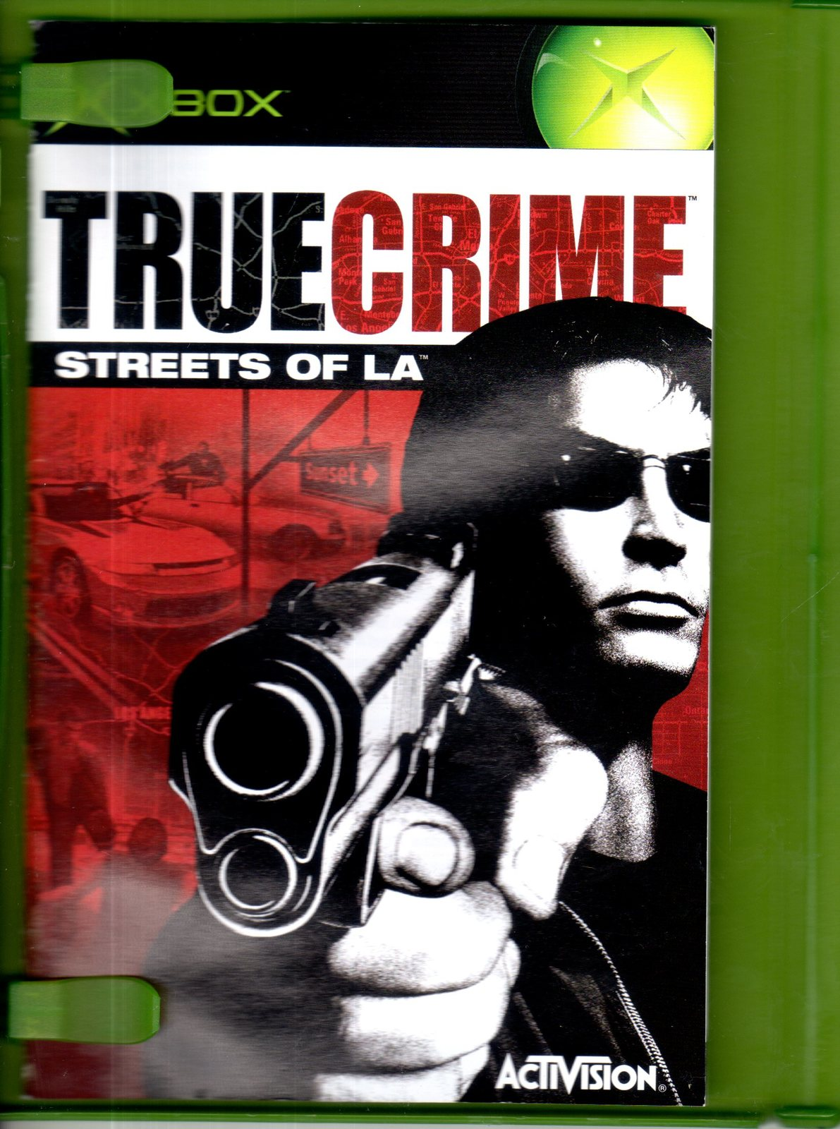 True Crime Streets of L.A. - Microsoft Xbox