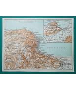 ALGERIA Environs of Algiers Boufarik - 1911 MAP - $21.60
