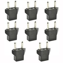 Inovat 8 PCS American USA to European Outlet Plug Adapter - $8.56