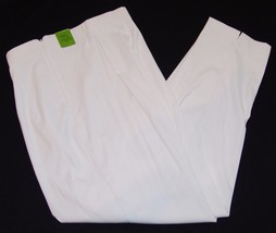Kim Rogers Signature 16 Average NWT White Pants Holly Comfort Stretch New - $27.84