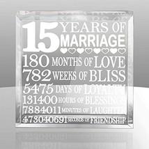 Kate Posh - Fifteen (15) years of Marriage - Our 15th Anniversary Keepsake - $32.26