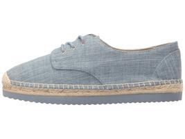 Michael Kors MK Women's Premium Hastings Lace-Up Fashion Sneakers Shoes Denim image 5