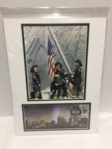 September 11 Heroes USA Photo 9/11 Firefighters Commemorative Envelope - $29.69