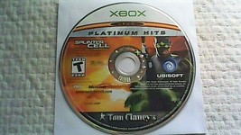 Tom Clancy's Splinter Cell: Pandora Tomorrow -- Platinum Hits (Xbox, 2004) - $4.95