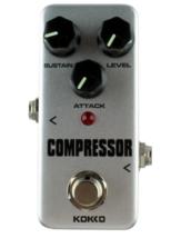 Mini Guitar Compressor Pure Analog Bypass Design Effect Pedal - $25.83