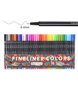 36 Colors Fine Liner Pen Set Sketch Marker Coloring For Manga Art Drawin... - $16.99+