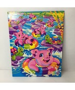 Rare Vintage Lisa Frank Trends Pigventures Double Pocket Folder - $59.17