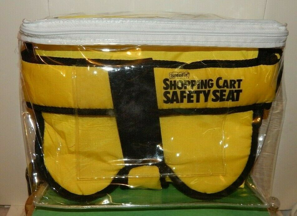 Primary image for CHILDS/BABY GROCERY SHOPPING CART PROTECTOR SAFETY SEAT.