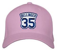 An item in the Sports Mem, Cards & Fan Shop category: Cody Bellinger Hat - Los Angeles Baseball #35 Adjustable Womens Cap (Pink)