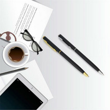 Pen Office Ballpoint Writing Pens Stationery Study School Supplies Black... - $3.00