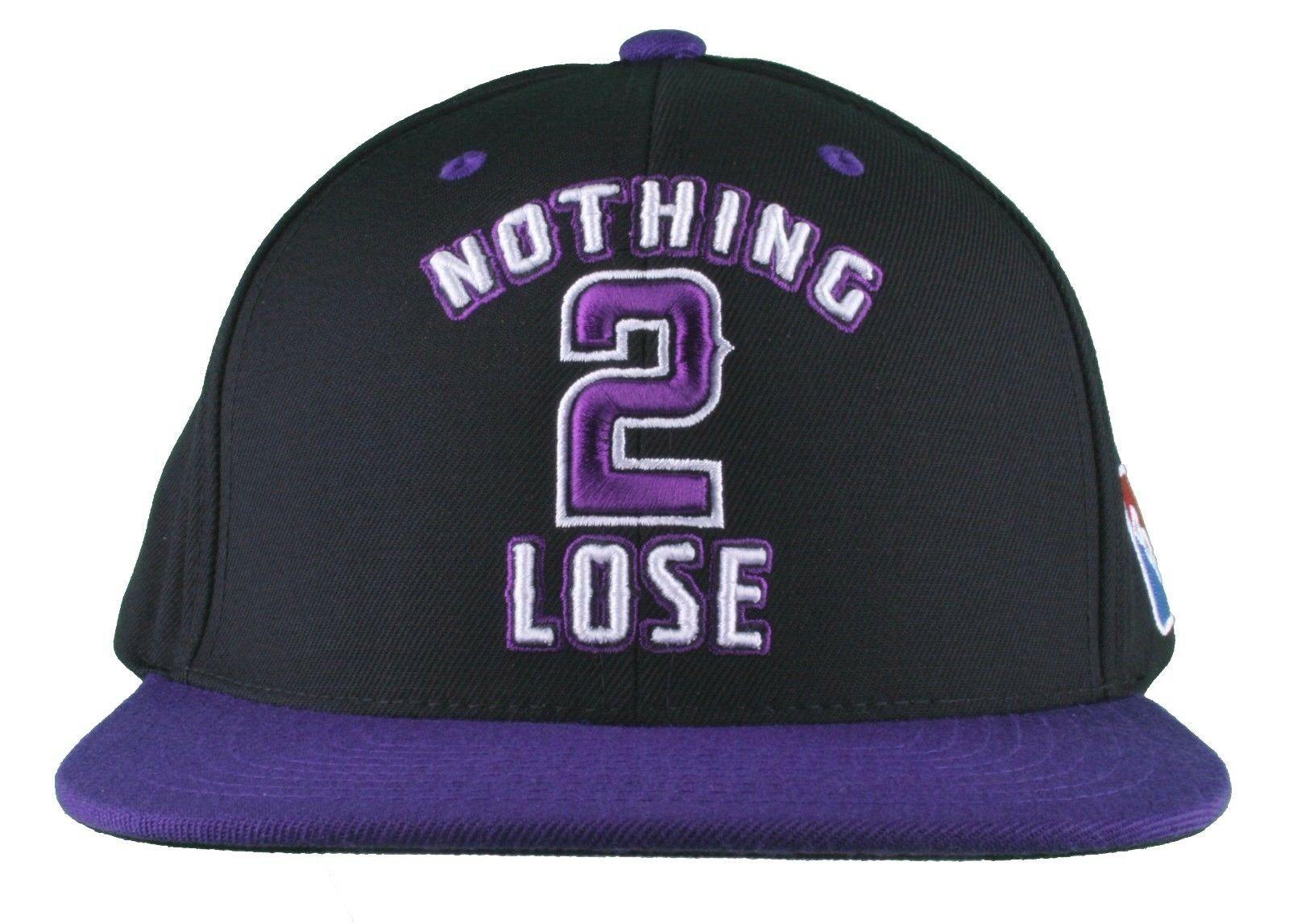 DGK Dirty Ghetto Kinder Schwarz Lila Nothing Sich 2 Verlieren Baseball Hut Nwt