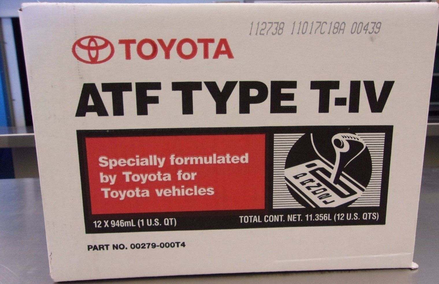 15X Quarts Toyota/Scion/Lexus Automatic Transmission Fluid ATF Type 4 T4  GENUINE