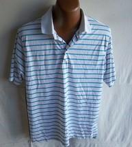 Under Armour - Men's White/Multi Loose Heat Gear Golf Polo Shirt - Size L - $15.95