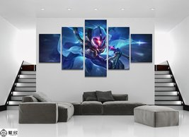 New Master Yi League of Legends LOL 5 Piece Canvas Art Wall Art Picture ... - $25.00+