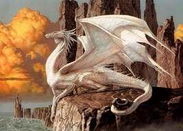 Dragons White   2.5 x 3.5 Fridge Magnet - $3.99