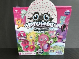 Hatchimals The EGGventure Game With 4 Exclusive Figures -Opened & Dented Box -AN - $8.99