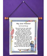 Boy Scout Volunteer - Personalized Wall Hanging (581-1) - $18.99