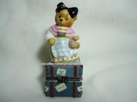 Cherished Teddies Covered Box Across The Seas France 1998 NIB - $23.71