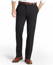 NEW MENS IZOD AMERICAN CHINO CLASSIC FLAT FRONT WRINKLE FREE SMOOTH TOUC... - $19.99