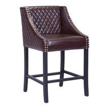 counter chairs, Santa Ana Vintage Elegant counter high chairs, Brown - $368.99
