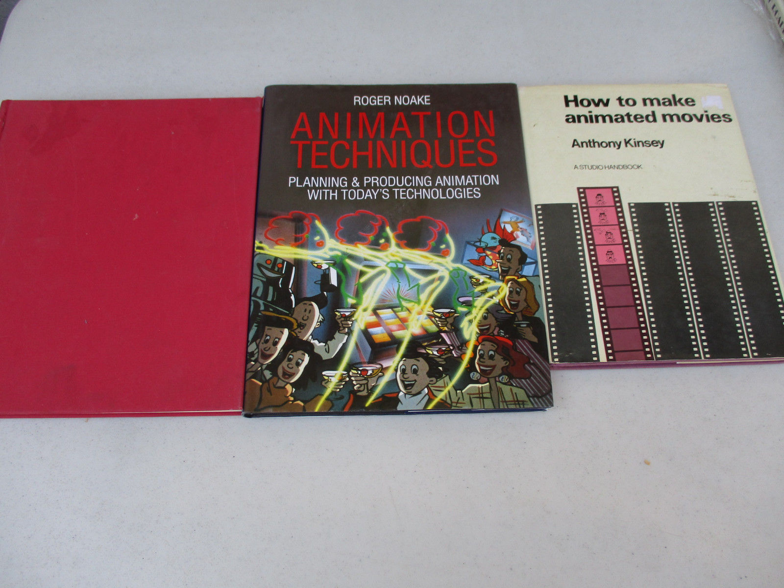 Animation Movie Technique Vintage Anime Cartoon Film Book Lot How to Old Style