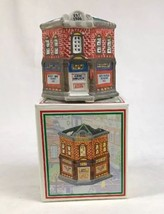 Home Town America Christmas Village Gem Drugs 1993 w/ Box NOS - $8.81