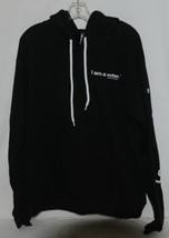 Royal Apparel  I Am A Voter Hoodie Color Black Size Extra Large image 1