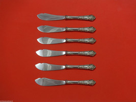 French Renaissance by Reed & Barton Sterling Silver Trout Knife Set 6pc Custom - $398.05