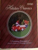Vintage Collectible Ornament Eckerd Holiday Classics Christmas Emergency... - $9.87